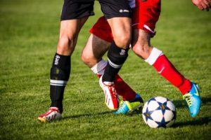 Football, Clip, Chaussures De Football, Duel